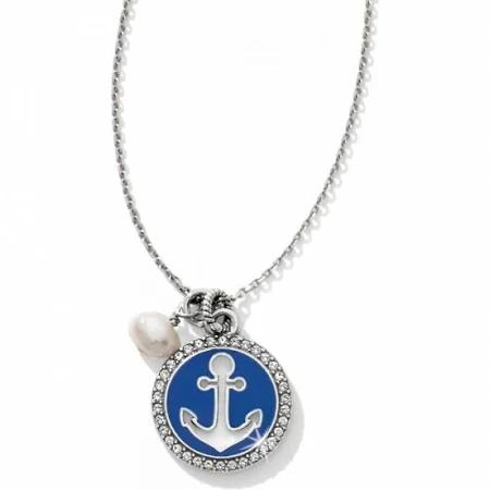 Brighton Indigo Beach Petite Anchor Necklace