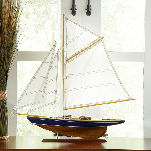 Birch Lane Mentone Model Sailboat