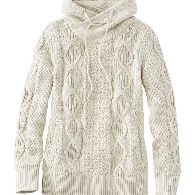 L.L. Bean Funnelneck Sweater