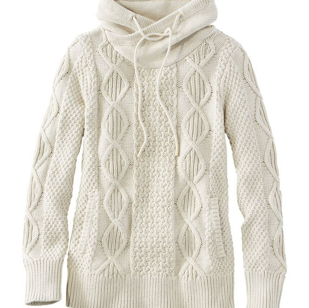 L.L. Bean Funnelneck Sweater