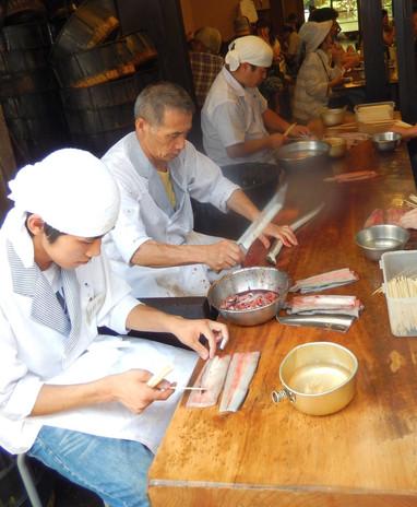 Preparing the Umagi