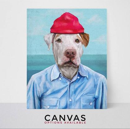 Nautical Custom Pet Portraits