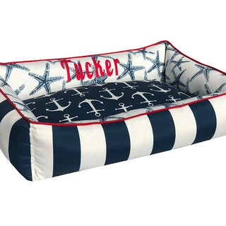 Nautical Pet Bed