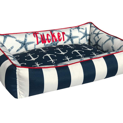 Nautical Pet Bed