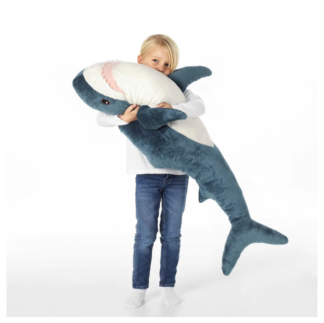 Ikea Jumbo Great White Plush Shark
