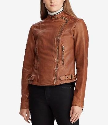 Ralph Lauren Moto Leather Jacket