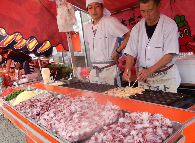Street food at the Gion Festival