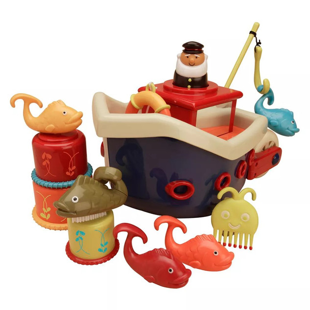 B. Toys Fish N Splish Bath Boat