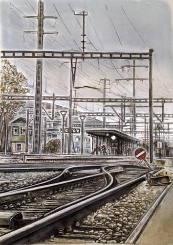 Bahnhof Gümligen