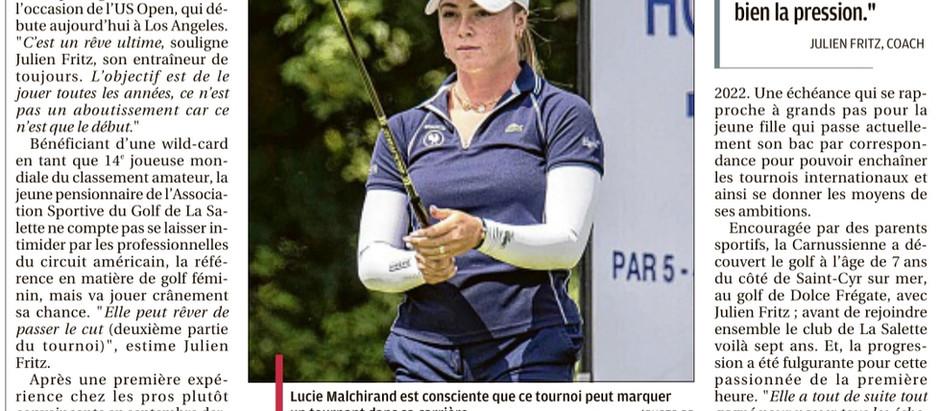 Lucie au 75e U.S. Women's Open Championship