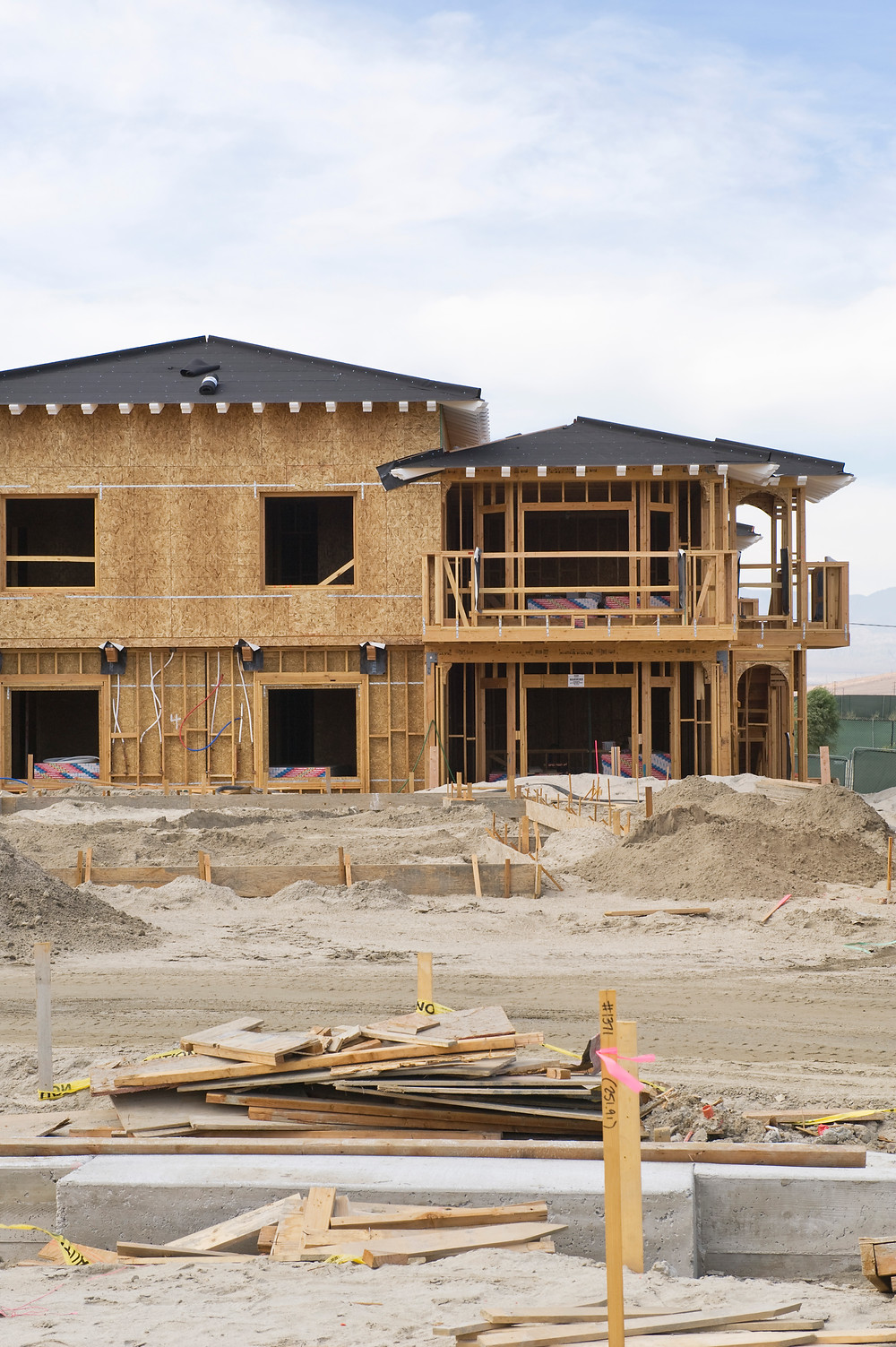 A new home during construction - phase home inspections