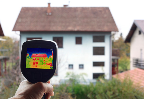 thermography - heat or temperature detection inspection