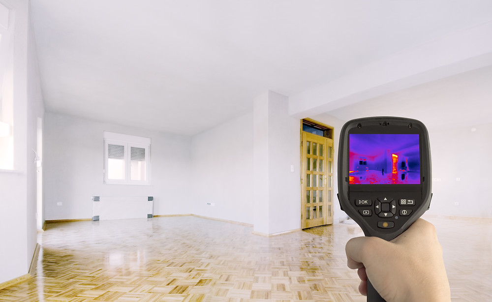 thermography home inspection Houston Texas
