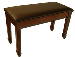 Jansen Upholstered Bench for Upright Pianos