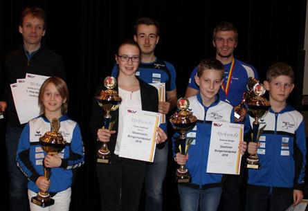 """Beste Mannschaft"" im Laufcup 2016"