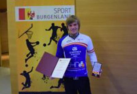 Landessportehrenzeichen für Hoadläufer Johannes Heindl
