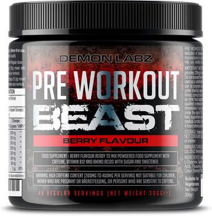 Pre Workout Beast - Hardcore pre-Workout