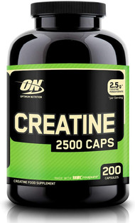 Optimum Nutrition Creatine 2500 mg Capsu