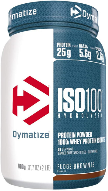 Dymatize ISO 100 Fudge Brownie 900g