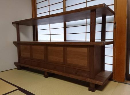 和室の飾り棚