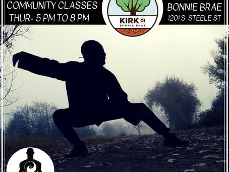 AOP Community Tai Chi classes