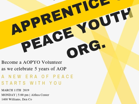 AOP VOLUNTEER TRAINING