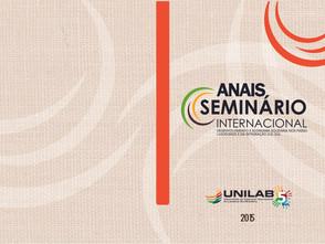 Livro dos Anais do Evento em fase de produção gráfica.
