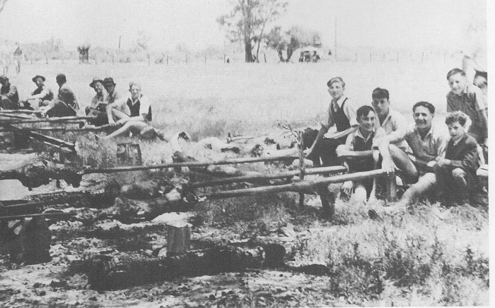 1950's Croatian Lamb on the spit, Swan Valley