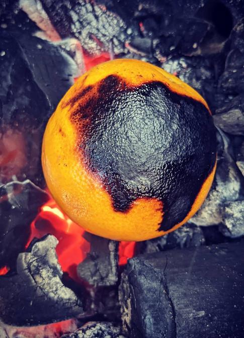 Burnt Orange for Charmalade.