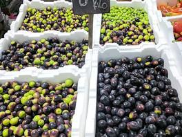Olives at Queen Victoria Market