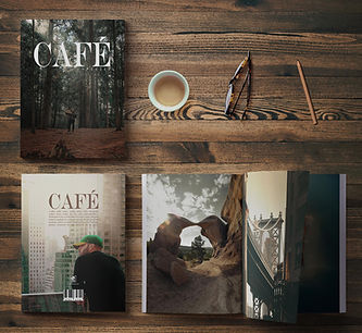 """CAFÉ"" PHOTOBOOK BY PeeZee"