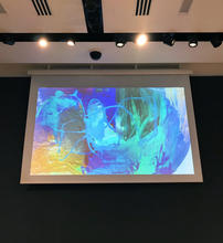 Digital painting displayed at Christie's