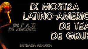 Texto sobre a Mostra Latino-americana de Teatro de Grupo de São Paulo