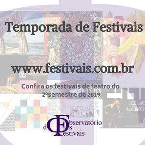 Festivais 2019 | 2º semestre