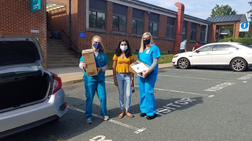 Our Virginia Team including VA lead Sneha Thandra, Rachana Subbanna, Anika Iyer, Rita Radi, Jenny Oh, and Tanvi Nallangula, dropped off 27 devices to Charlottesville Free Clinic! This donation included 13 brand new Amazon FIRE tablets! This clinic provides free healthcare appointments to low-income and under-insured patients in the Charlottesville area. These devices will help these patients readily access their online doctor's appointments from home! Amazing work VA team!