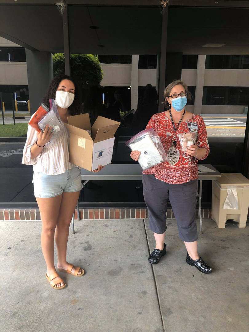 Our South Carolina lead Angelica Walker recently donated 8 devices to the WM Jennings Bryan Dorn Veterans Affairs Medical Center in Columbia, South Carolina! Our South Carolina team has been working hard to get these veterans access to devices to connect with physicians and family.