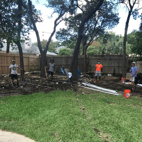 Our amazing volunteers in Austin, TX have been getting creative with fundraising! Daniel and Jason Xiong, Sidh Pandit, Hrushikesh Saranu, and Frank Lai have been doing yardwork in the Texas heat to raise money to buy devices for low-income patients. They have raised $1500 by themselves and are getting it matched with Visa to make a total of $3000. That's enough to provide 60 devices! Thank you so much for your hard work!