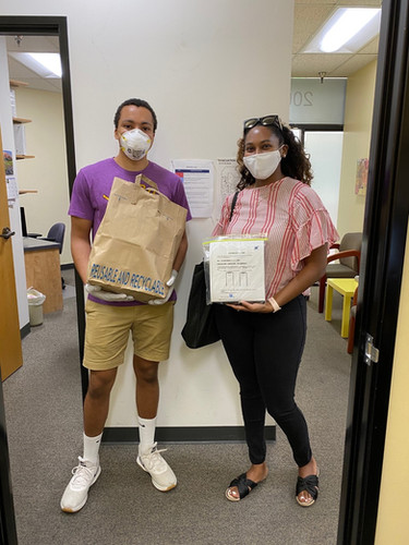 Our CA volunteers Shannon Larsuel and Brandon Scott recently dropped off devices to the Chinatown Service Center Community Health Center in Los Angeles! Their drop-off included comprehensive device guides developed by our amazing guide team that have been translated into multiple languages such as Chinese, Korean, Spanish, etc. as shown in the photo! They brought the Chinese translated guides for patients' ease of use. Shannon and Brandon also received this letter commending them for their efforts in helping low-income minority communities get access to digital medical care and stay connected to family and friends during the pandemic.