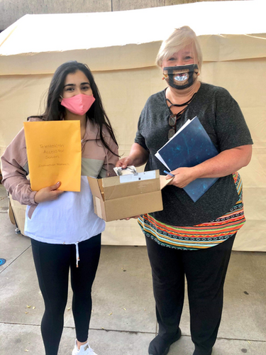 """Our West Virginia Lead Sarah Shabih (Emory '21) recently did a drop off to the Hershel """"Woody"""" Williams VA Medical Center in Huntington, West Virginia! They requested devices for three of their veterans so that they could get digital access to their physicians, family, and friends. Sarah quickly fulfilled their request."""