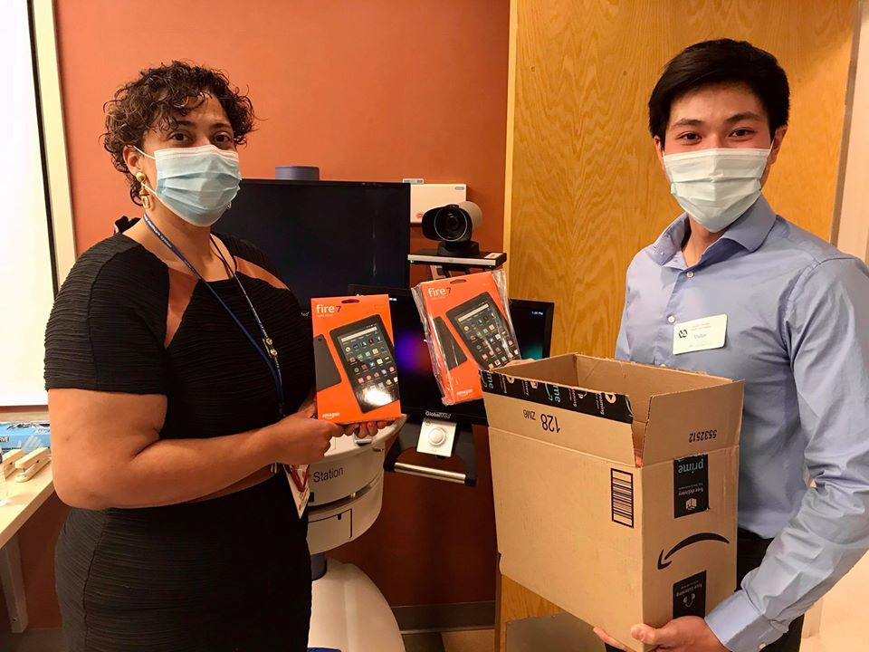 Our Nevada Lead Christian Ong recently donated 9 brand new Amazon fire tablets to VA Southern Nevada Healthcare System! They provide healthcare services to veterans in Southern Nevada, California, and Western Arizona areas. These devices will allow low-income veterans in these areas to have easy access to their doctors from home without having to stay in potentially infectious waiting rooms. Amazing work!