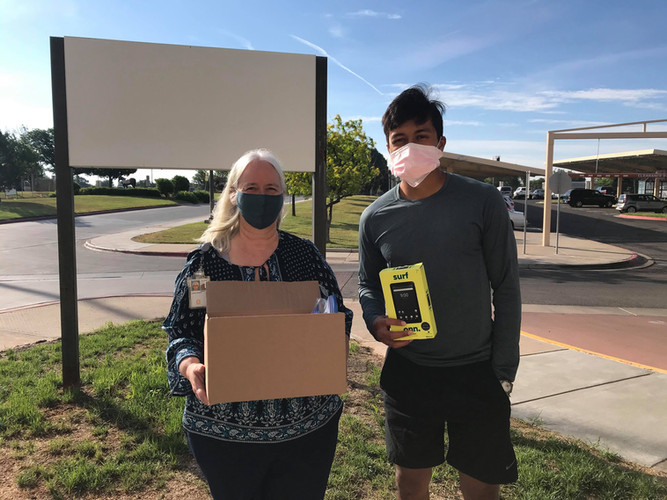 Our Amarillo, TX volunteer Vikram Shaw recently dropped-off 8 devices to the Amarillo VA Health Care System! These devices, including brand-new tablets, will be used to help low-income veterans get access to the care they need and stay connected with their loved ones while staying safe.