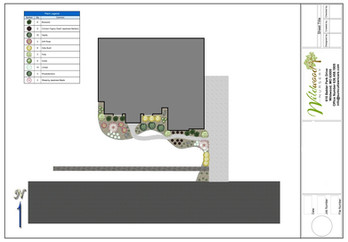 Computer generated landscape plans and 3-D redering