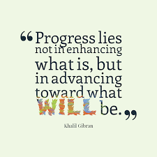 Progress IS the Point