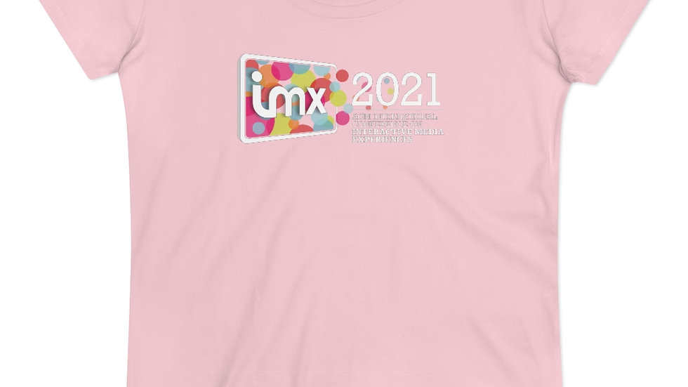 Organic Women's T-shirt (pink/white)
