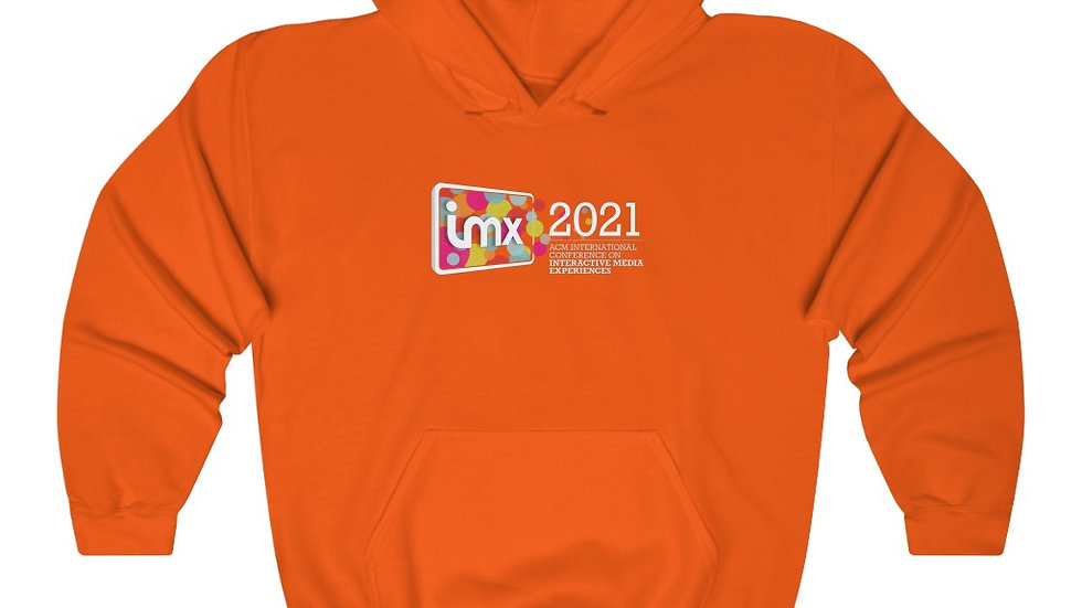 Hoodie w/ Center Logo-shipped from US (6 colors)