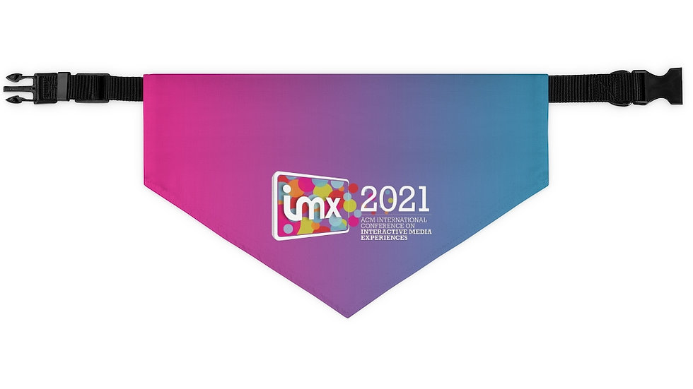 IMX21 Pet Bandana Collar