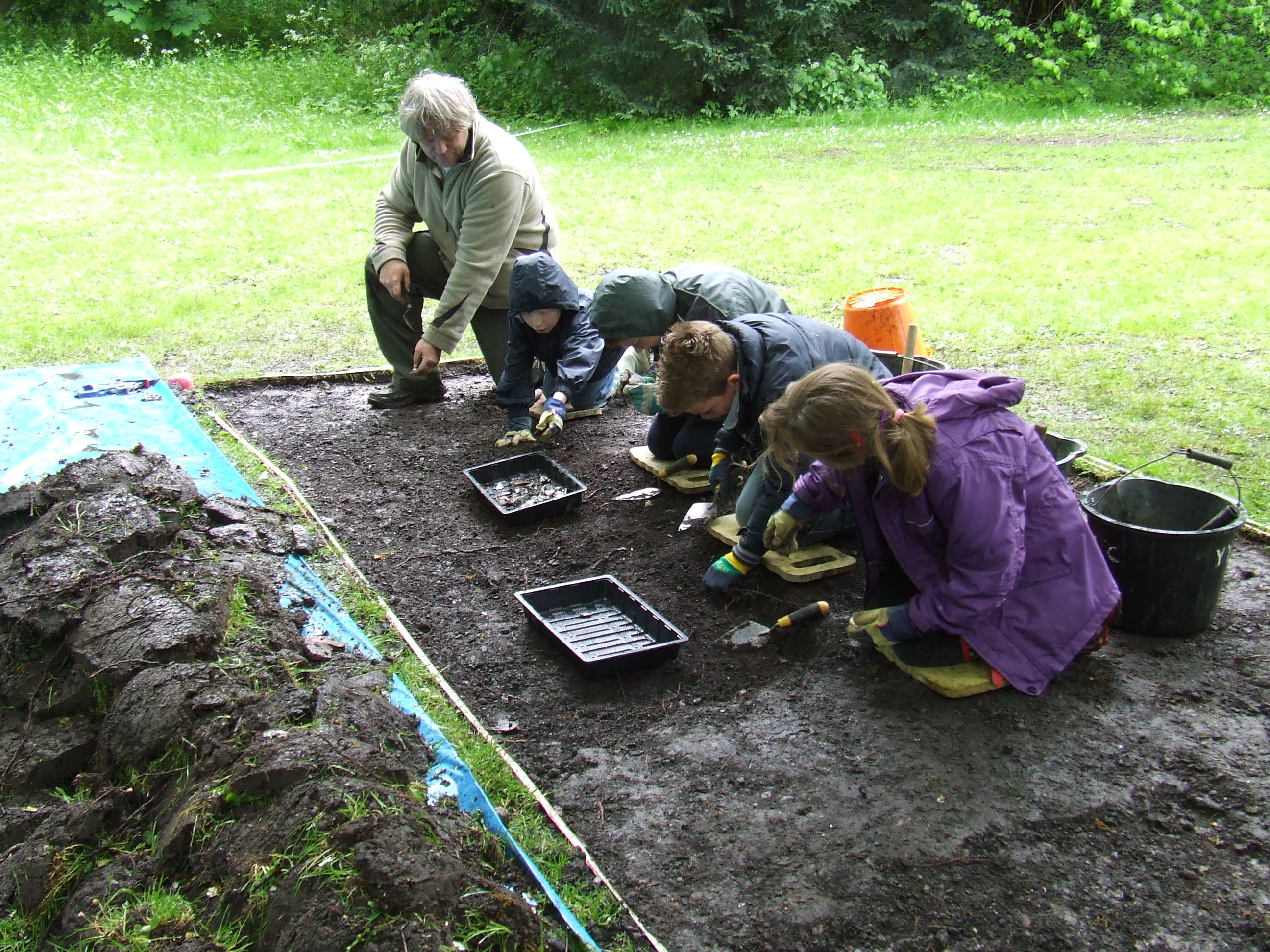 School Excavation