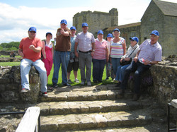 Helmsley Castle Visit