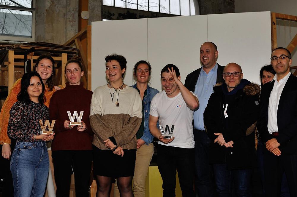 Finalistes du concours du Winter Innovation Lab