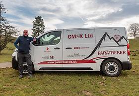 Gordon McGregor with his GM4X van